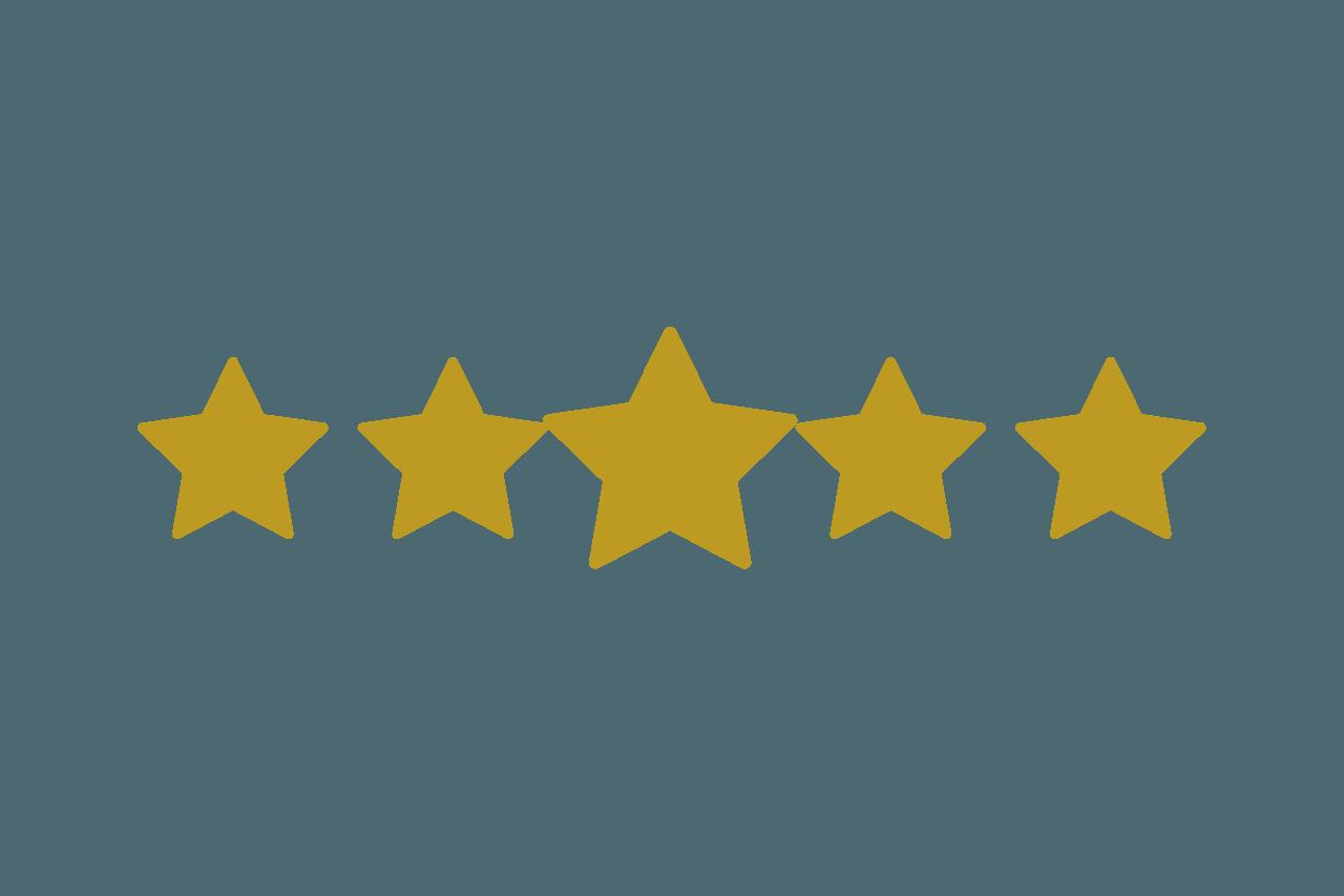 Nuestras opiniones 5 estrellas